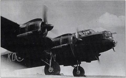 Une des rares photos du Lancaster DS-690 KO-C
