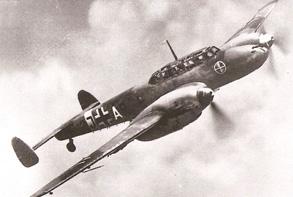 Un Messerschmitt Bf 110-G4
