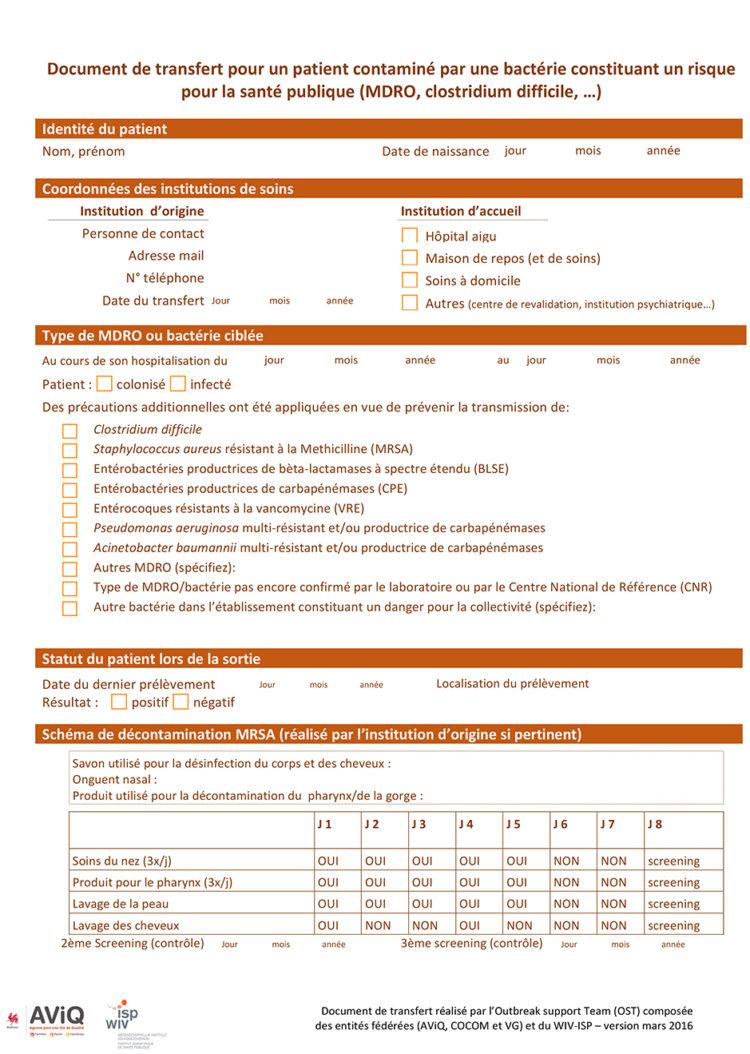 Document de transfert  mars 2016
